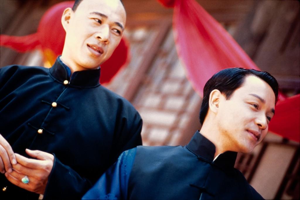 張豐毅(左)表示初見張國榮(右)便覺得《霸王別姬》唯有他才能詮釋