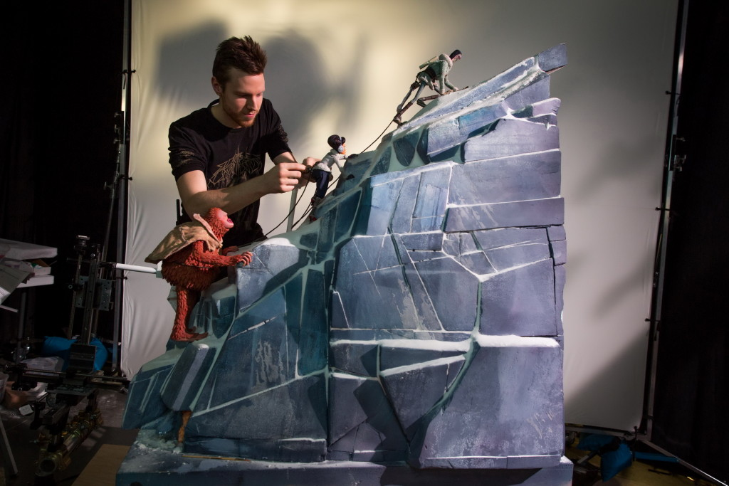 《大冒險家》片中每一個畫面都是由工作人員手工調整拍攝而成