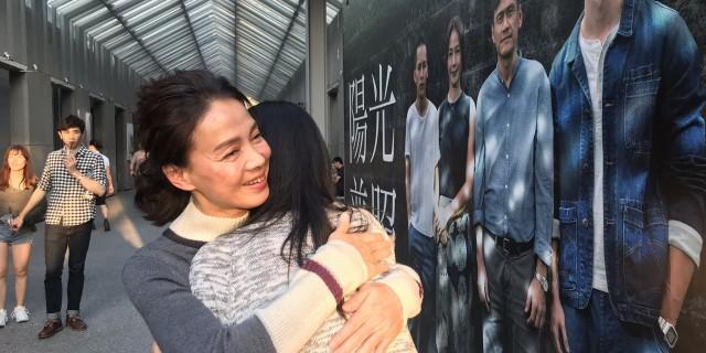 柯淑勤出席映後QA,給粉絲「愛的擁抱」