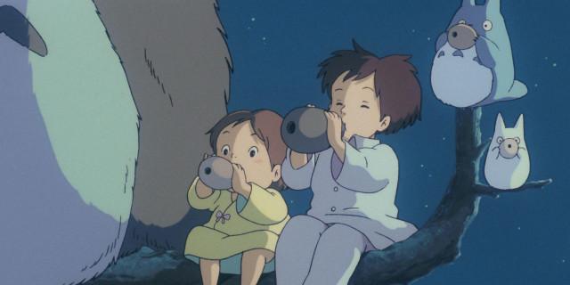 宮崎駿經典動畫電影《龍貓》現正熱映中