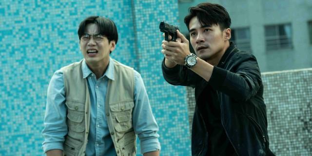 5.禾浩辰拍攝追逐戲拚盡全力,更因太投入不慎撞傷頭部